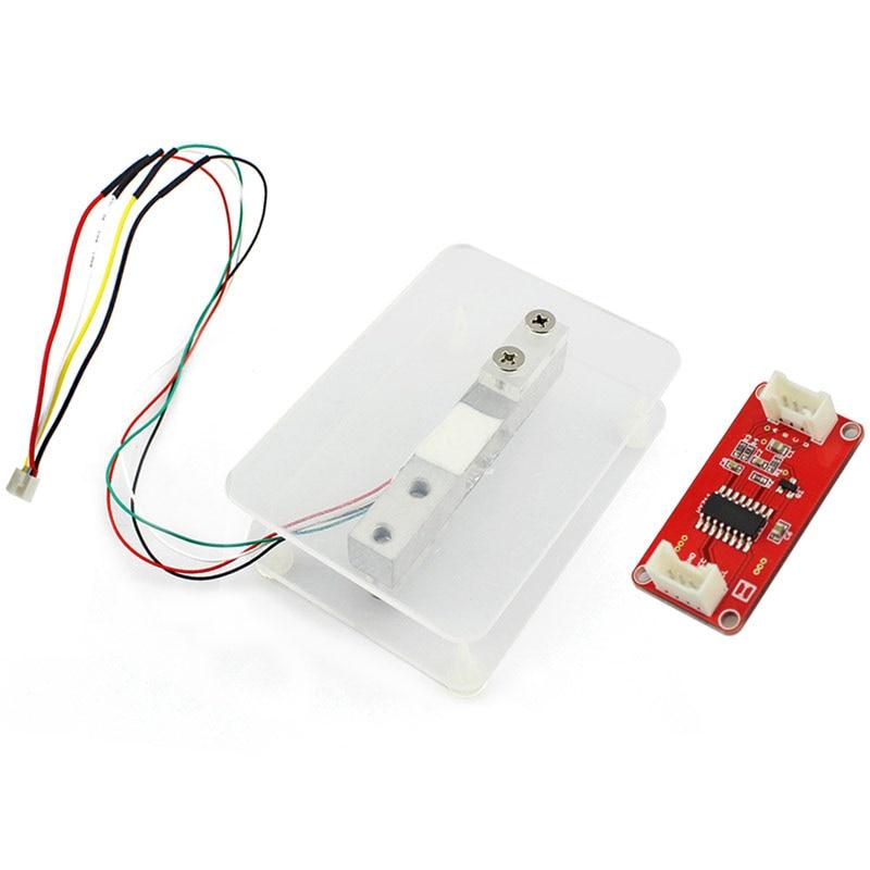 Elecrow Poids Capteur Cellule De Charge Kits DIY Électronique Balances Poids pour Arduino HX711 Amplificateur Faible Courant de Veille