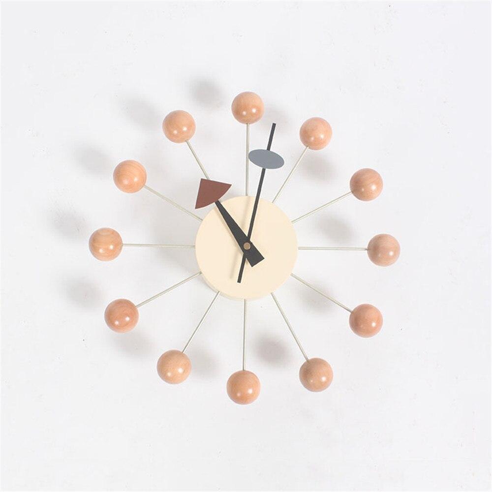 ساعة حائط الإبداعية ديكو الحلوى ساعة دُولابٌ دَوّار ووتش أنيق خلفية أضيق الحدود التعميم الملونة كرات ساعة حائط s-في ساعات الحائط من المنزل والحديقة على  مجموعة 1
