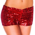 The new sexy  shiny mini sequined shorts ,B145