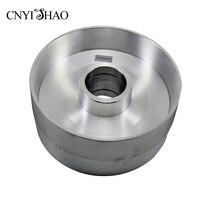 CNYISHAO алюминиевый тонкий полировальный круг 225*100 мм Контактное колесо абразивный ремень Набор для углового шлифовального станка и ленточно