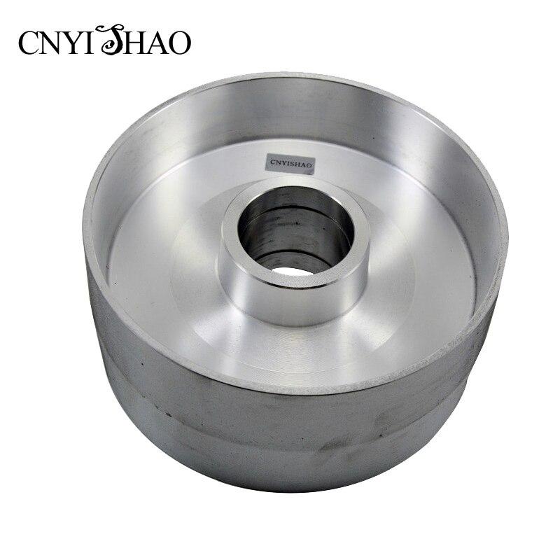 Cnyishao Алюминий тонкой полировки колесо 225*100 мм контакт колеса абразивный комплект ремней для угловая шлифовальная машина и ремень Jil Sander