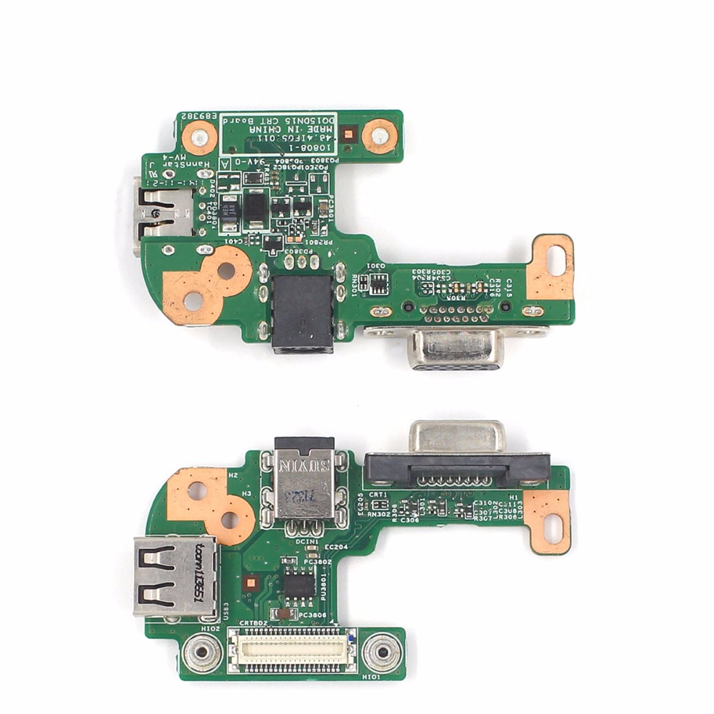 все цены на  DC Power Jack Board VGA Board With USB 2.0 Port Original Install For Dell N5110 For Inspiron Stable Quality And Free Shipping  онлайн