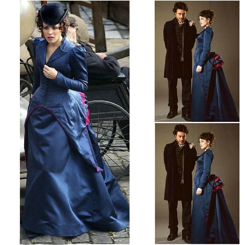 SC 836 Victorian Gothic Vintage font b Dress b font Halloween Theater font b dress b