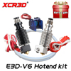 Free Shipping XCR3D 3D Printer Parts E3D V6 Hotend Kit 0 4 1 75MM J Head