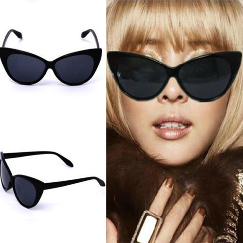 50's Retro Fashion Cat Eye Glasses Outdoor Travel Pin Up