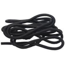Гофрированный провод кабельный трубопровод труба 10 мм OD 4 м длина черный