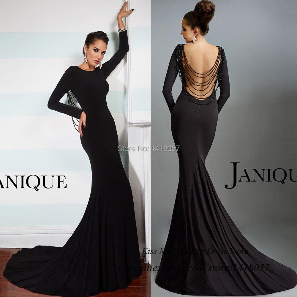 Aliexpress.com : Buy Robe de Soiree Sexy Black Formal Evening ...