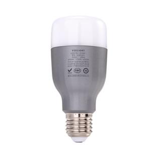 Image 4 - Yeelight מותג LED חכם הנורה WIFI שלט רחוק RGB led אורות לבית להתאים בהירות נוריות הנורה מנורת מהיר חינם