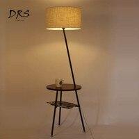 Nordic Floor Lamps for Living Room Simple Modern Sofa Table LED Floor Lamp Lambader Creative Warm Lights Lampadaire Vertical