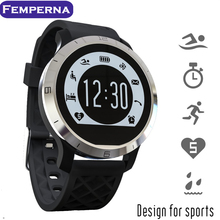 Femperna F69 Bluetooth Smart Watch IP68 Waterproof Swimming Heart Rate Monitor Sports Clock for IOS Apple xiaomi Android phone