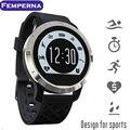 Femperna f69 bluetooth smart watch ip68 natação à prova d' água heart rate monitor sports relógio para ios apple xiaomi android telefone