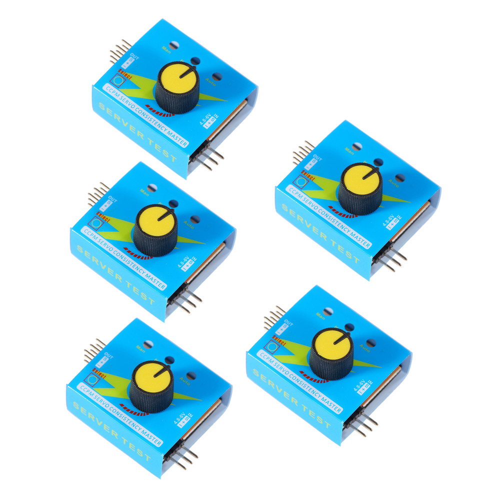 5pcs/lot Multi Servo Tester 3CH ECS Consistency Speed Controler Power Channels CCPM Meter Hot Selling