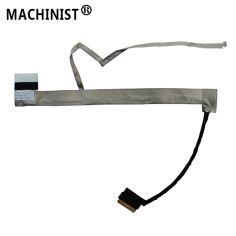 MACHINIST Video Screen For Dell Vostro 1015 Laptop LCD LED LVDS Display Ribbon Video Cable 047XNF DDVM9MLC000 DDVM9MLC002