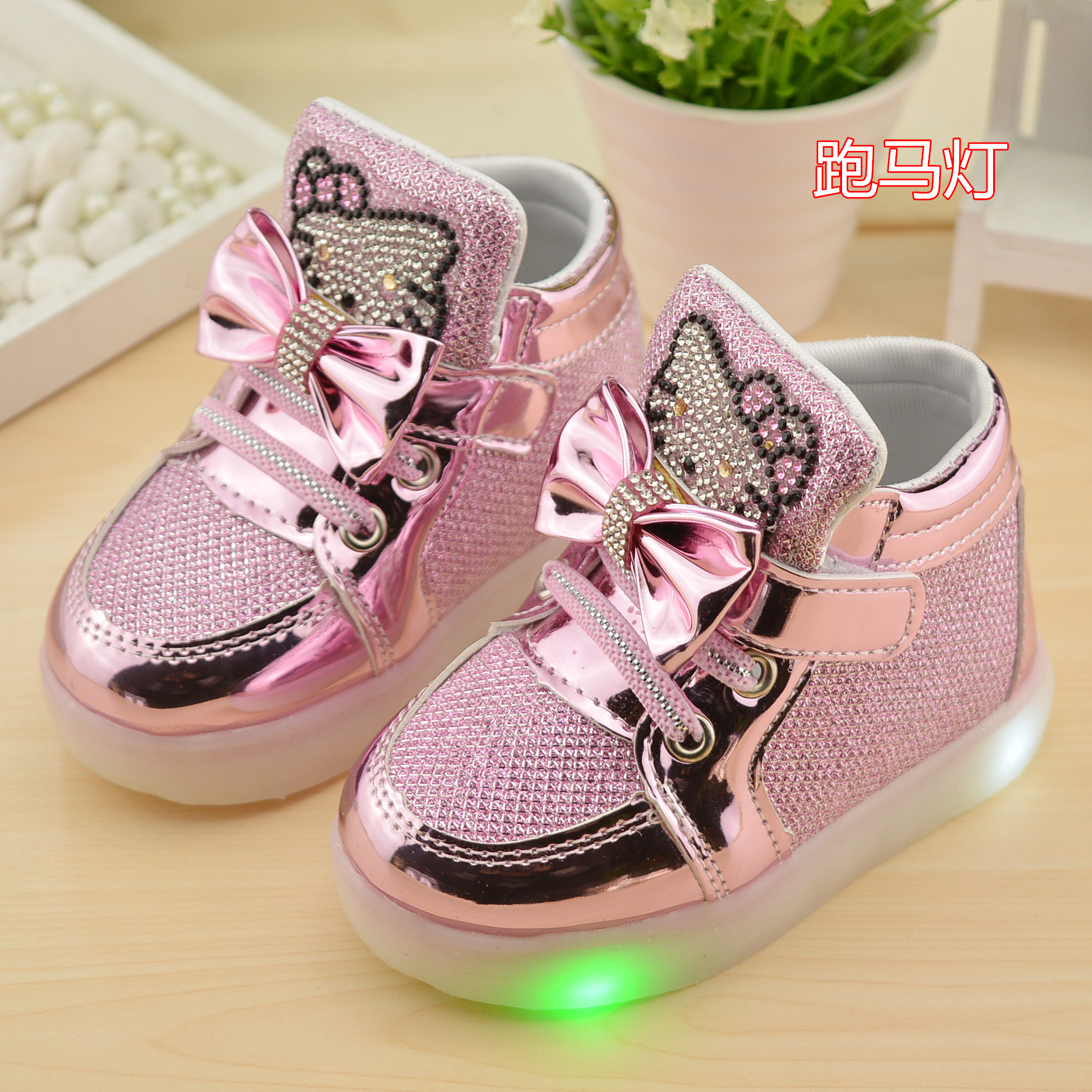 New Children s Shoes Flash Children s Shoes Shine Baby Shoes Boys