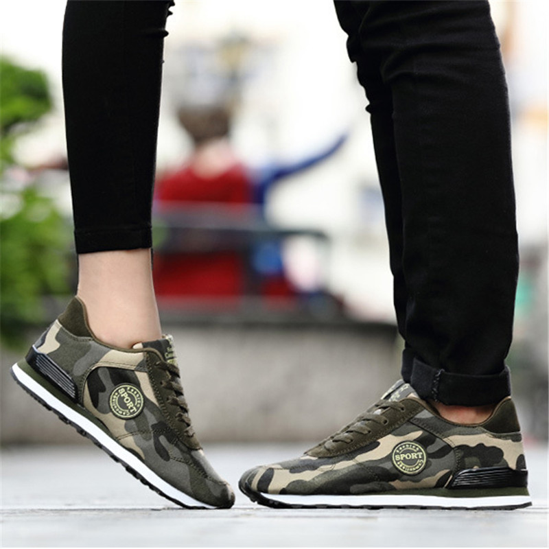 Desert Digital Camouflage Canvas Cross-Trainers 5
