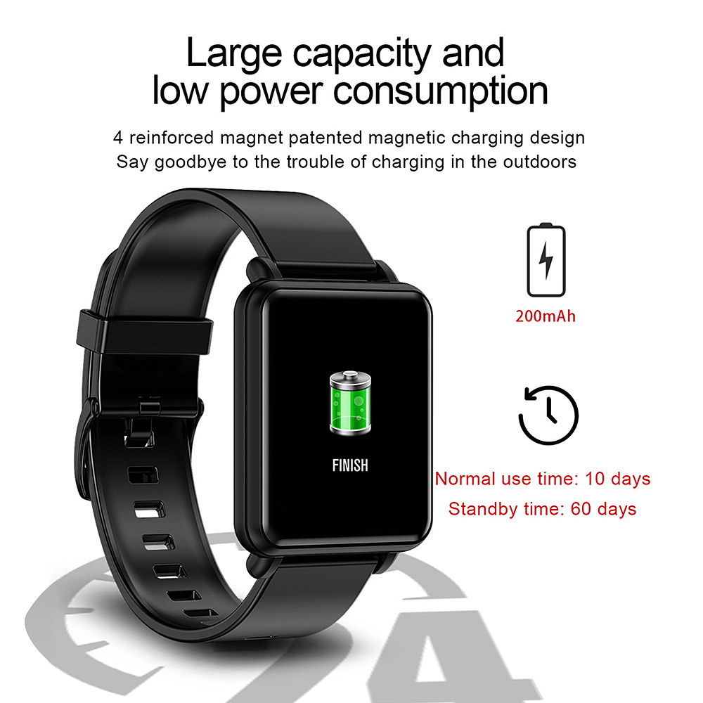 COLMI Land 1 Full touch screen Smart watch IP68 waterproof Bluetooth Sport fitness tracker Men Smartwatch For IOS Android Phone 5