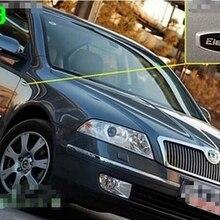 Эмблема автомобиля крыло наклейка для skoda Octavia, fabia, superb, быстрый yeti элегантный стиль