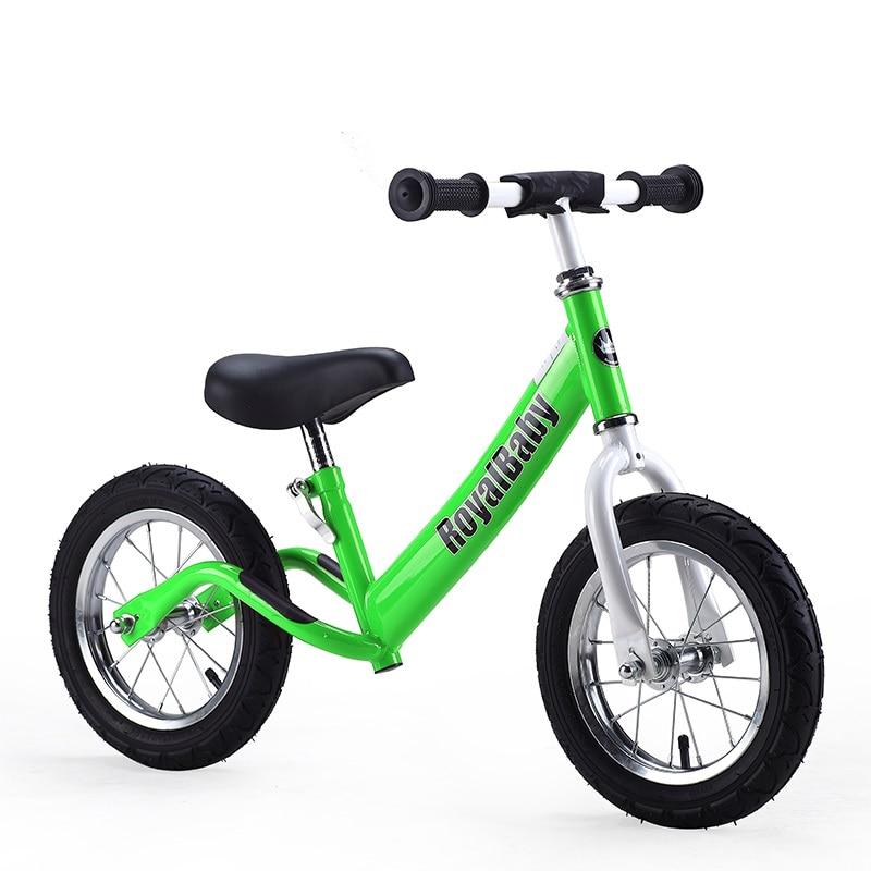 Enfants Push Balance vélo sans pédale 12