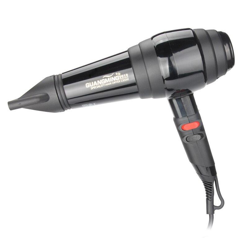 Secador de pelo profesional potente de 2300 W y secador de pelo eléctrico secador de pelo caliente/frío con boquilla de recogida de aire-in Secadores de pelo from Electrodomésticos    1