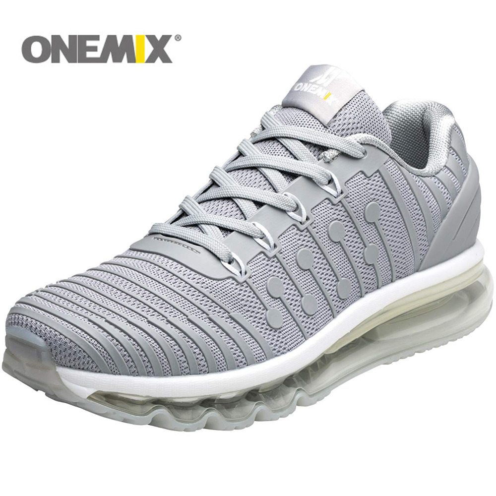 ONEMIX Running Shoes For Men Women Air Cushion 97 KnItting Gym Fitness Outdoor Sneakers Max 12