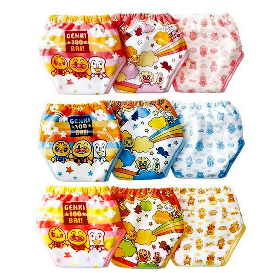 3pcs/lot Fashion 3 Layers Baby Toilet Training Pants Infant Underwear Boy Girl Panties Cloth Diapers Pee Learning Nappies #002