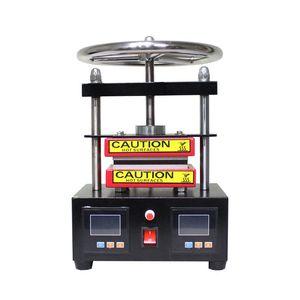 Image 2 - Free shipping  Adjustable Pressure Rosin Press Hydraulic Heat Press Machine Dual Heating Plates Oil Extractor   CK220