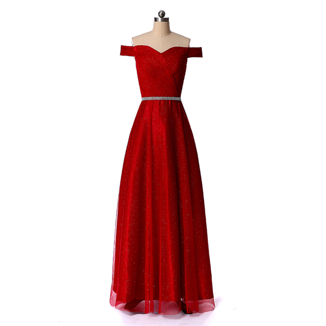 Bealegantom 2019 New Red Prom Evening Dresses Beaded Plus Size Beaded Lace  Up Party Gowns Vestido Longo QA1540 bfbcf255eb1b