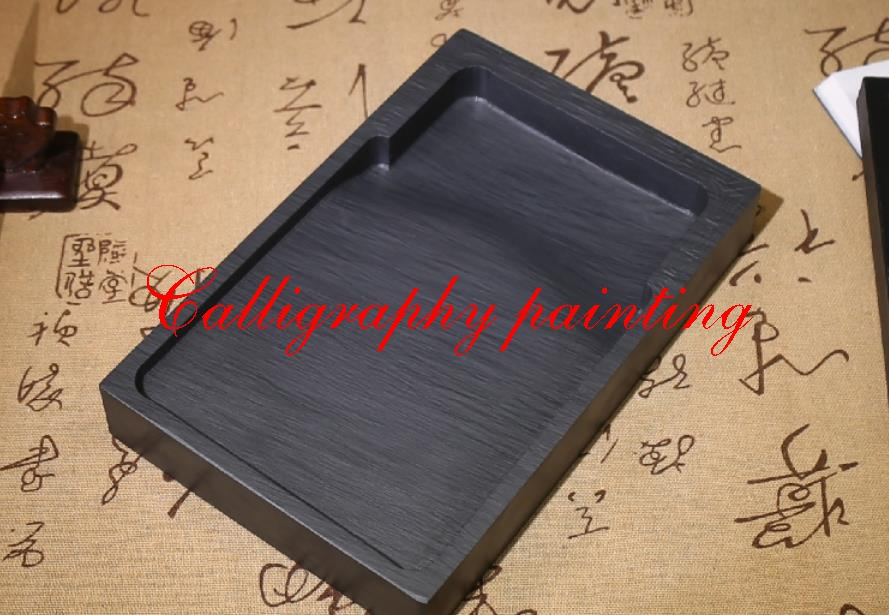 """8"""" She Ink Stone Rectangle Inkstone Calligraphy Painting Tool"""