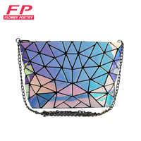 Nuevas bolsas famosas de Bao para mujer con pliegues de entramado de Diamantes sobre Bolsos De mujer bolsos de hombro con cadena pequeña Bolsa de mensajero bao Bolsa