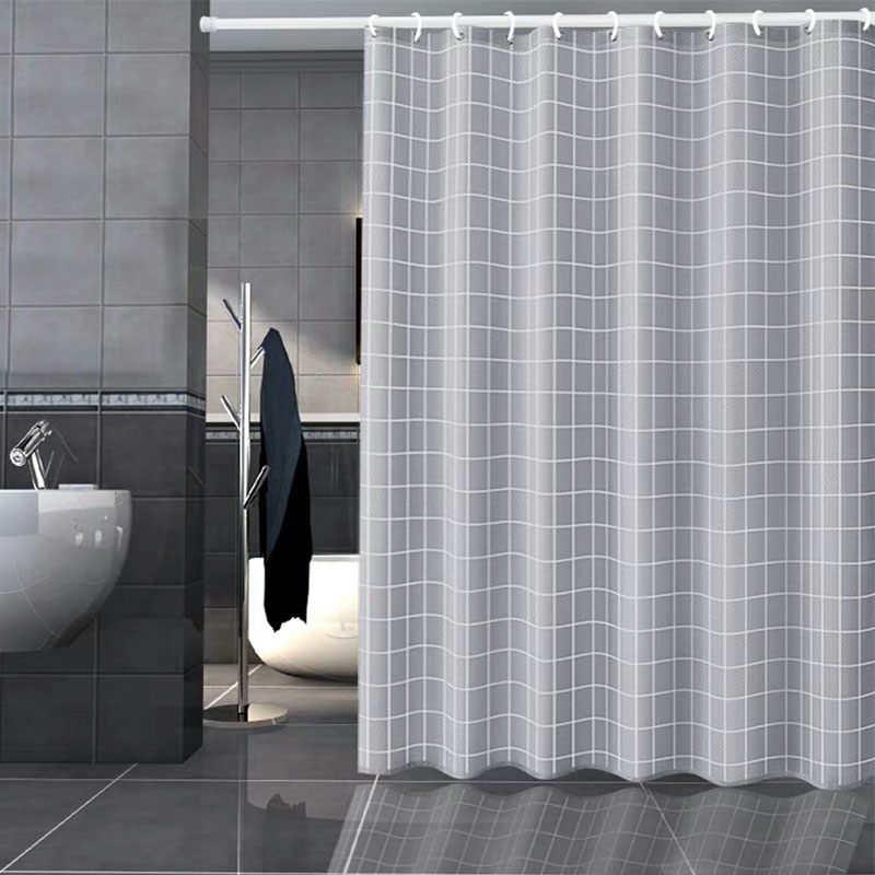 Spring Loaded Shower Curtain Rod.Us 2 74 30 Off Adjustable Spring Loaded Bathroom Shower Curtain Rods Extendable Tension Telescopic Pole Rod Hanger Spring Tension Curtain Rod In