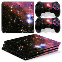 One Set Sticker For PS4 PRO Skin For Sony Playstation 4 Pro Console 2 Controller Skin