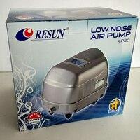 17W 22L Min RESUN LP 20 Low Noise Aquarium Air Pump For Septic Tank Oxygen Air