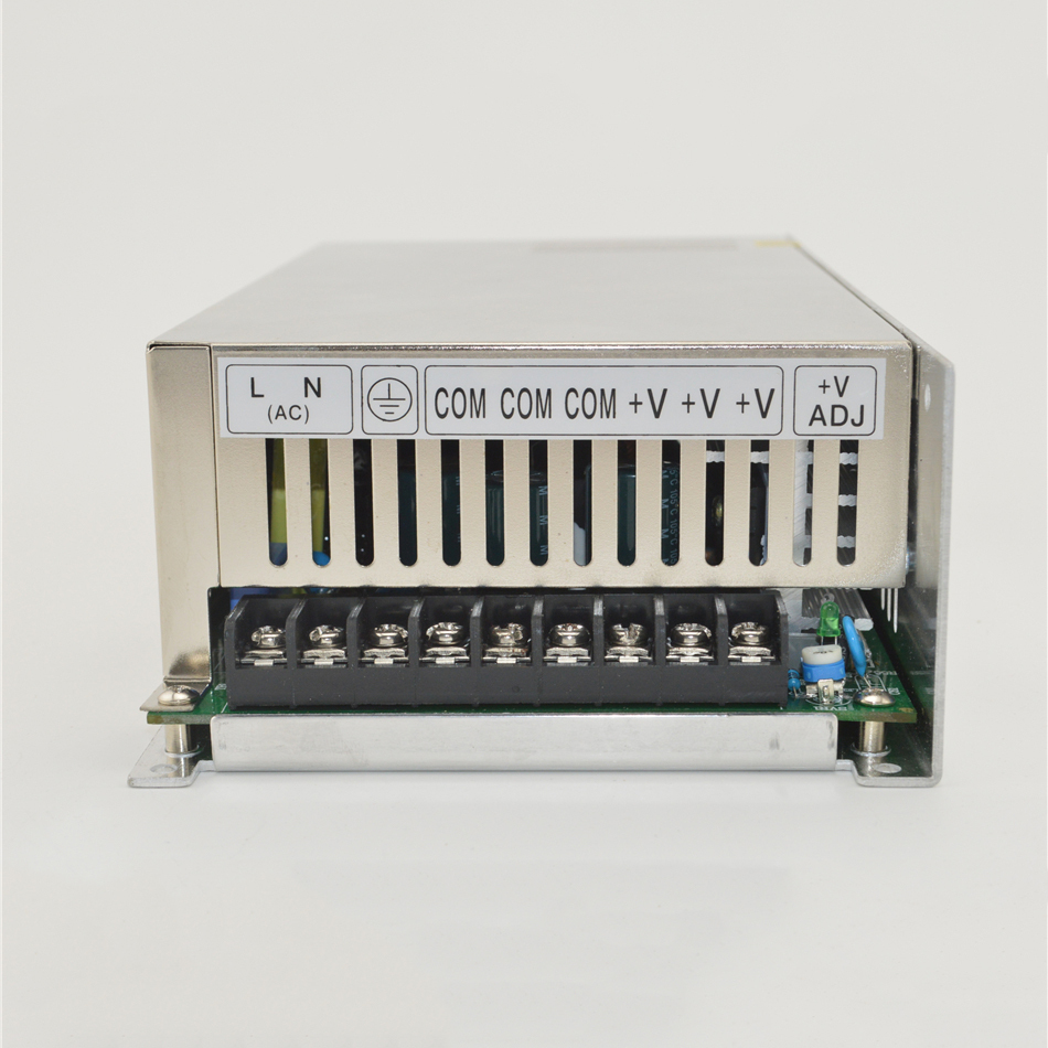 ФОТО ac to dc 500W 24v 20a S-500-24 protection wide range Fan Cooling camera led driver source switching power supply volt