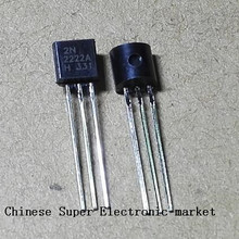 50PCS  2N2222 MPS2222A MPS2222 TO-92 TO-92