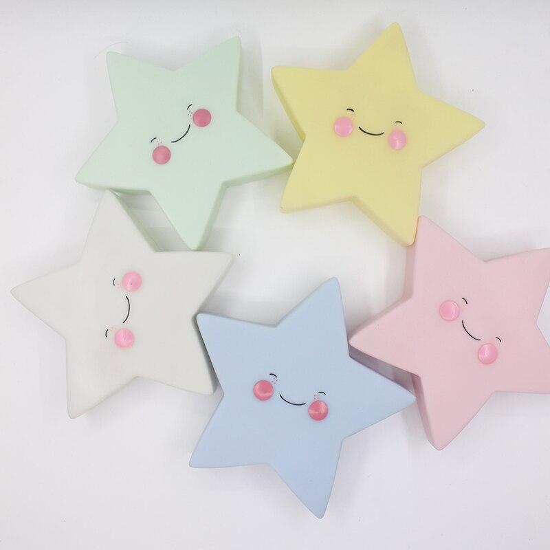 Luzes da Noite criativo adurable novidade estrela night Tipo : Night Light