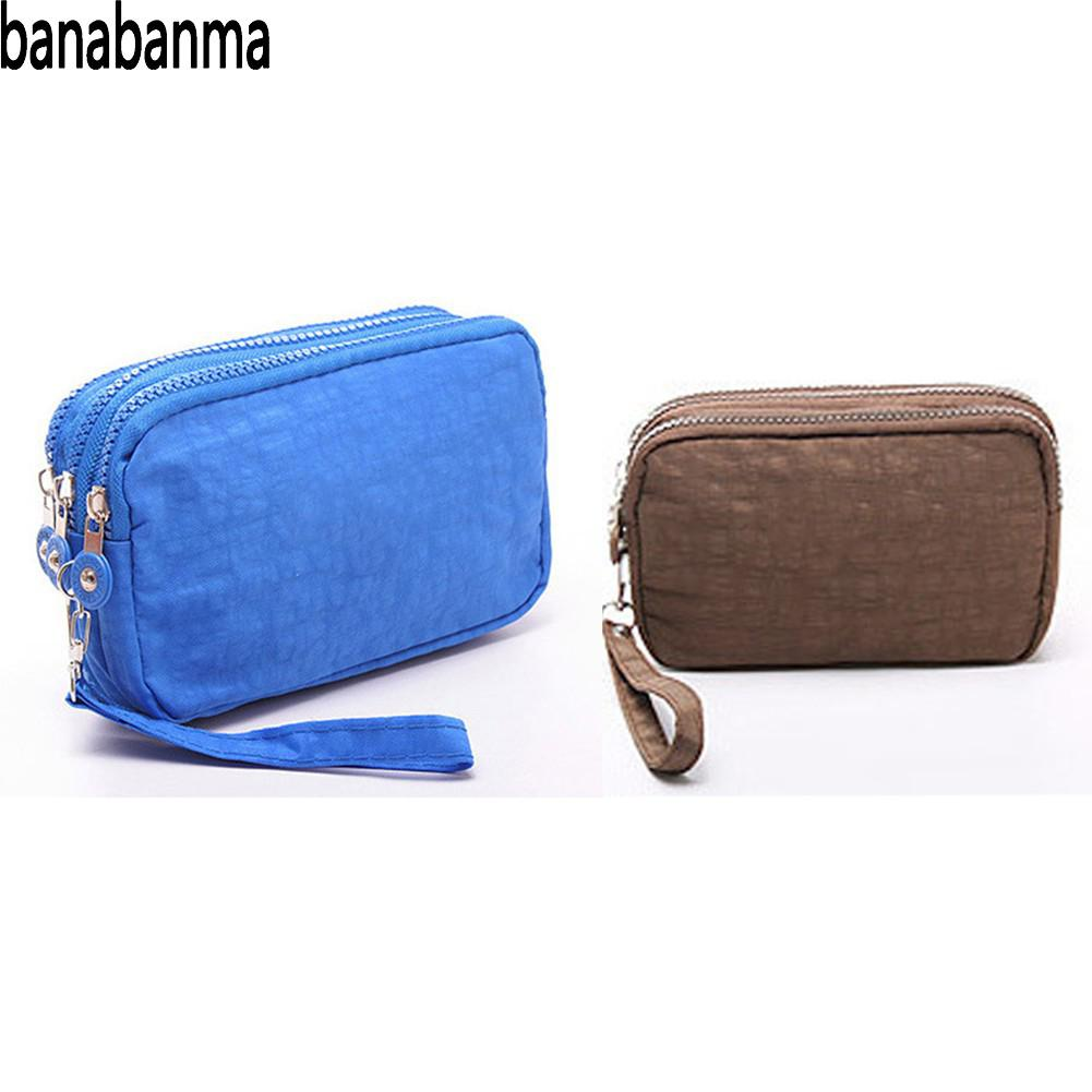 Banabanma Lady Handbag Phone Wallet Package 3 Layers Handbag Cross Section Clutch Bag Large Capacity Bags for Women 2018 ZK30