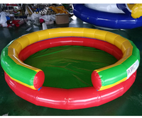 PVC Inflatable swimming pool slide china for sale for children Ball pit Inflatable pool large inflatable pool