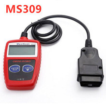 цена на Best price Original MS309 OBD2 Scanner Multi-languages MS 309 OBDII Scanner Car Code Reader MS309 Auto Diagnostic Scan Tool