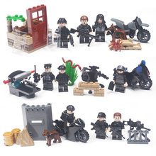 Military Weapon Army Building Blocks Brick Series City Police Guns MOC Friends Compatible Legoing DIY Toy For Kids(China)