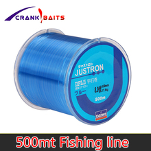 купить Nylon Line Super Strong Nylon Fishing Line 500M 2-35LB Monofilament Line Japan Material Fishline for Carp fishing Multi онлайн