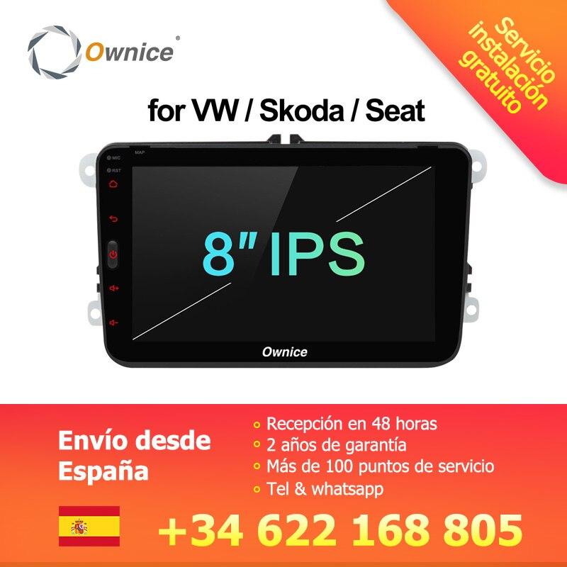 [Installation Service Kostenloser] Ownice K1 Android 8.1 hände frei bluetooth Universal 2 Din Auto Radio GPS für Volkswagen/ skoda/Sitz