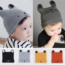 2019 Baby Hat Winter Hats Children's Hat For Boy Girls Cotton Beanie Cap Toddler Infant