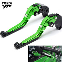 Motorcycle CNC Brake Handle Adjustable Folding Brake Clutch Levers For KAWASAKI ZX10R ZX 10R ZX 10R 2004 2005 With ZX10R