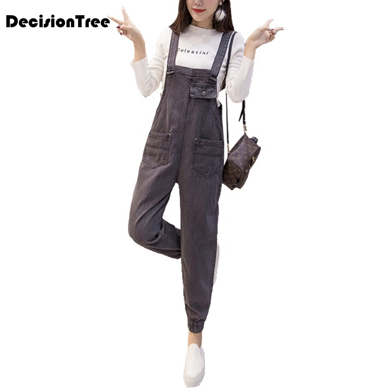 2019 new womens bodycon jumpsuit jeans denim rompers bib overalls trousers pants 1