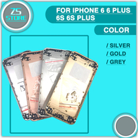 Back Battery Cover For IPhone 6 6 Plus 6S 6S Plus Battery Door Back Case Middle