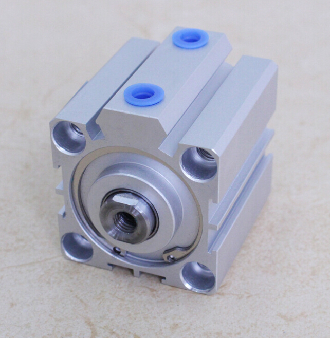 bore size 50mm*10mm stroke  SDA pneumatic cylinder double action with magnet  SDA 50*10 bore size 80mm 10mm stroke double action with magnet sda series pneumatic cylinder
