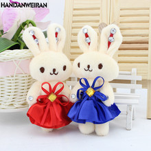 Free Shipping Cartoon Rabbit Bouquets Plush Toys Baby Doll Kids Christmas Gifts Wedding Present