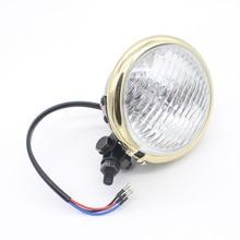 Universal de Bala LED Linterna de la Motocicleta Motor de Conducción Luz de Niebla del LED Fuente de Luz Externa, Apto para Harley Motocicleta Accessor