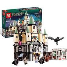 Lepin 16029 1033 Unids Serie de Películas de La magia Hogwort Castillo conjunto Modelo de Bloques de Construcción Ladrillos de Juguetes Educativos para Niños 5378