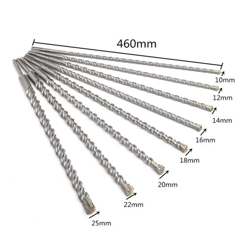 IMPACT BIT 3mm TO 25mm TUNGSTEN CARBIDE TIP PROFESSIONAL MASONRY DRILL BITS